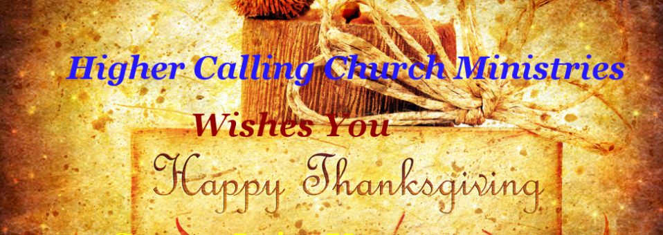 Thanksgiving holiday background with candle & dreamy stars